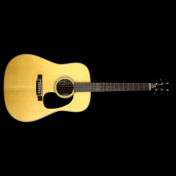Used 2007 Martin Elvis D-28M Acoustic Guitar Natural 1281813