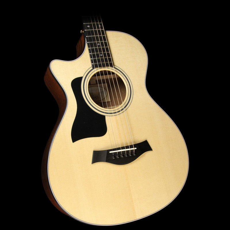 Taylor 312ce Grand Concert Left-Handed Acoustic/Electric Guitar Natural