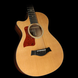 Taylor 552ce 12-Fret 12-String Grand Concert Left-Handed Acoustic/Electric Guitar Natural