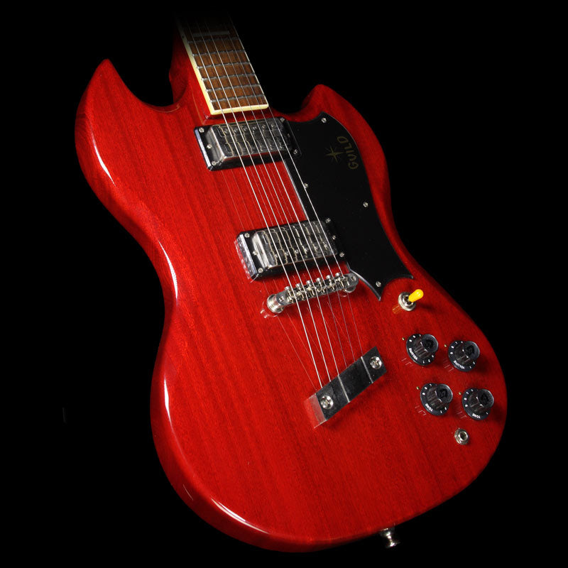 Used 2013 Guild S-100 Polara Electric Guitar Cherry