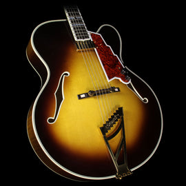 D'Angelico Masterbuilt New Yorker Archtop Electric Guitar Sunburst