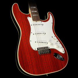 Used 2004 Fender Custom Shop Masterbuilt John English 1968 Double Bound Zebrawood Stratocaster Electric Guitar