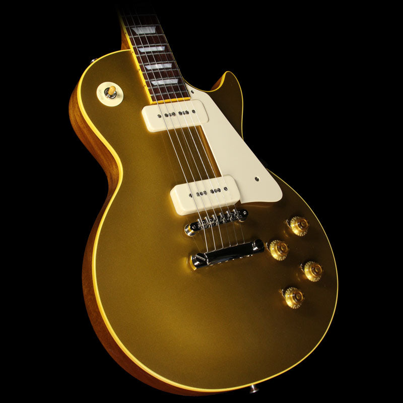 Used 2016 Gibson Custom Shop True Historic 1956 Les Paul Reissue Electric Guitar Goldtop 65109