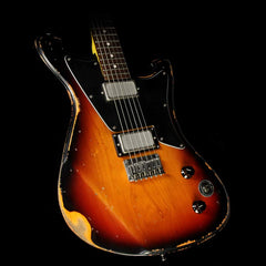 Wild Custom Guitars Wildmaster Foil Pickup Electric Guitar Relic Sunburst