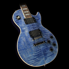 Gibson Custom Shop Made 2 Measure Les Paul Standard Electric Guitar Blue Denim
