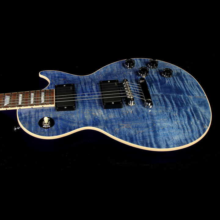 Gibson Custom Shop Made 2 Measure Les Paul Standard Electric Guitar Blue Denim CS601603