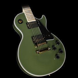 Gibson Custom Shop Made 2 Measure Les Paul Custom Electric Guitar Olive Green
