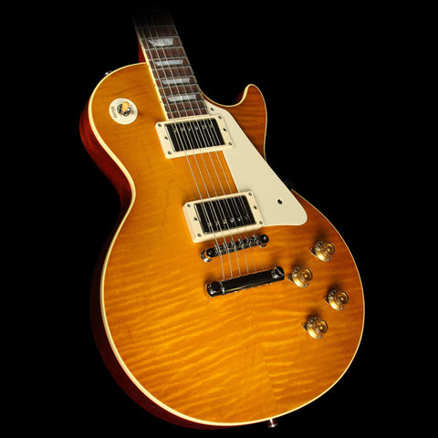 Gibson Custom Shop Historic Select 1958 Les Paul Slim Neck Electric Guitar Orange Drop