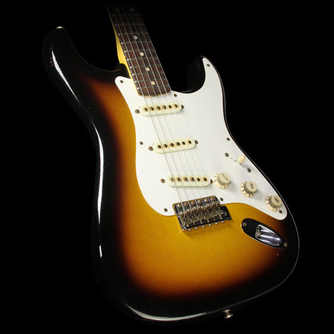 Used 2015 Fender Custom Shop '50s Stratocaster Relic Electric Guitar 2-Tone Sunburst