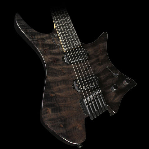 Strandberg Boden OS 6 Electric Guitar Black Gloss Quilt Top