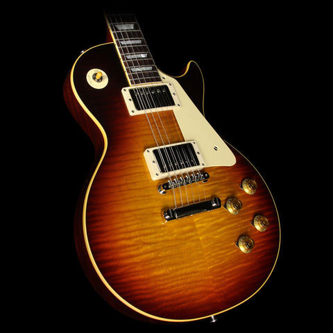 Gibson Custom Shop True Historic 1959 Les Paul Reissue Electric Guitar Vintage Dark Burst