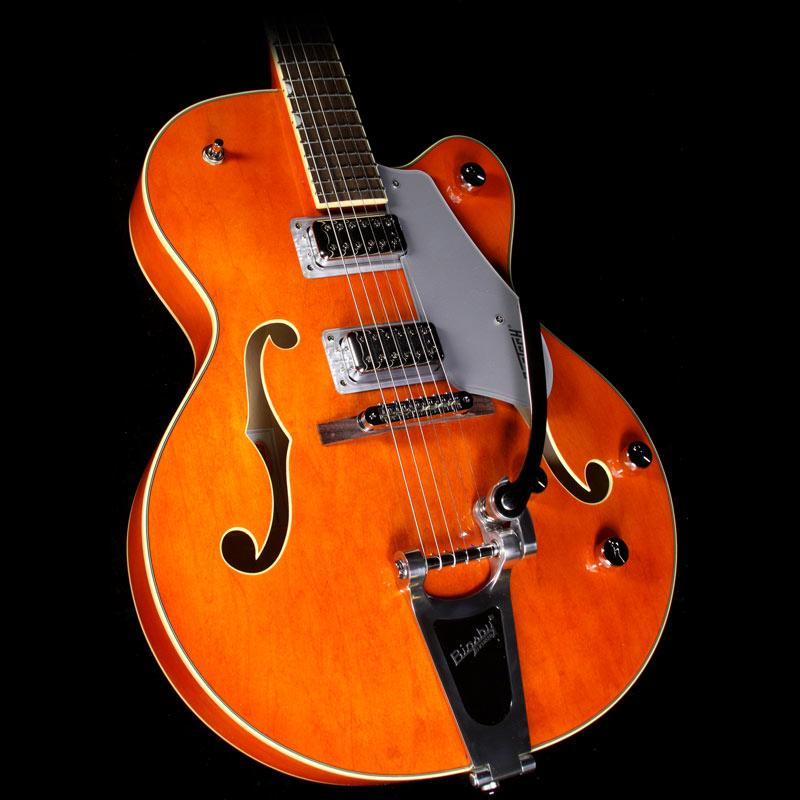 gretsch electromatic g5420t electric guitar orange stain the music zoo. Black Bedroom Furniture Sets. Home Design Ideas