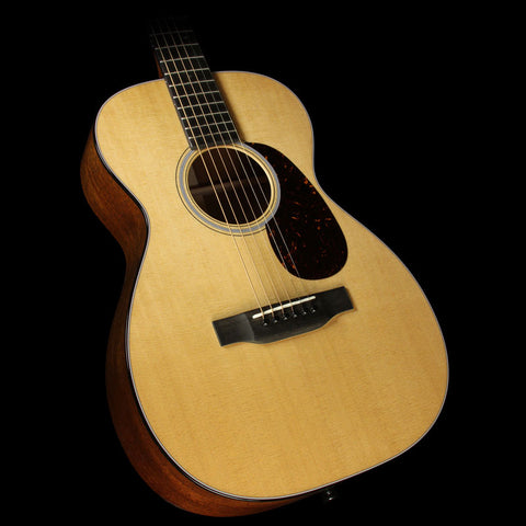 Martin Custom Shop 0-18 Sinker Mahogany 14 Fret Acoustic Guitar Natural
