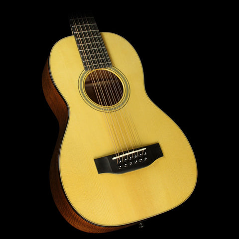 Martin Custom Shop Size 5 Flamed Mahogany 12-String Acoustic Guitar Gloss Aged Toner