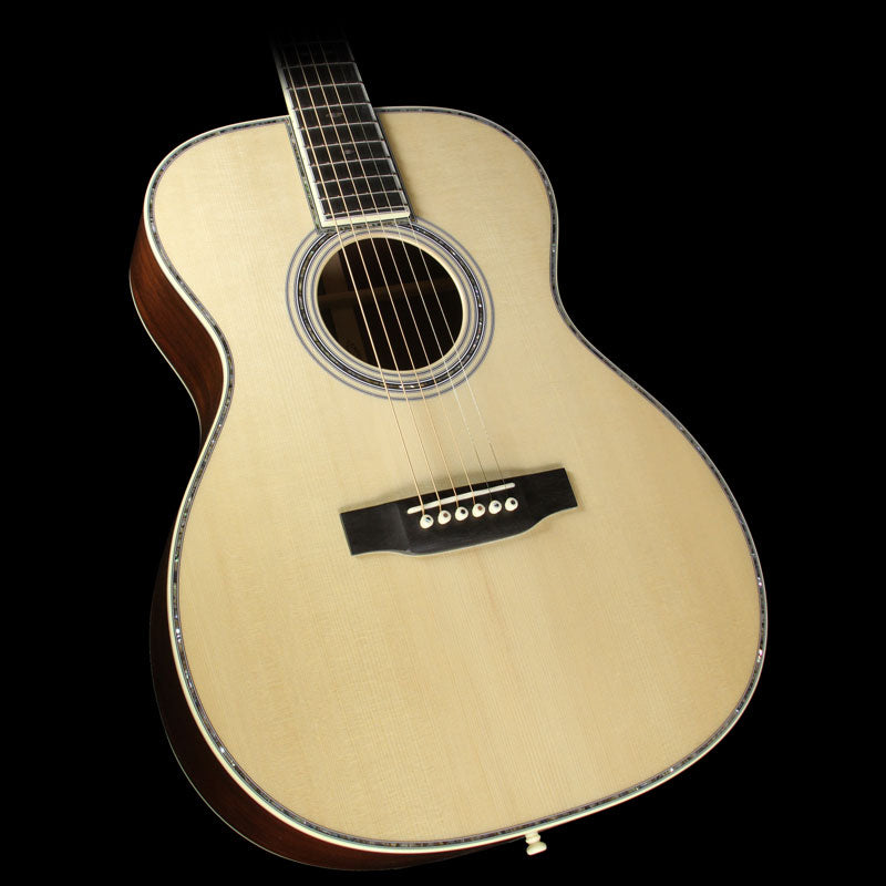 Martin Custom Shop 000-42 Madagascar Rosewood Back and East Indian Rosewood Neck Acoustic Guitar Natural