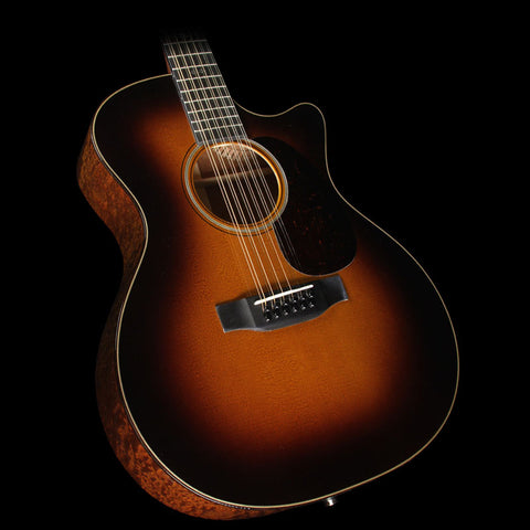 Martin Custom Shop GPC12-18E Sapele 12-String Acoustic-Electric Guitar 1935 Sunburst