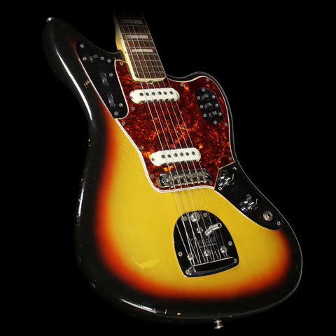 Used 1966 Fender Jaguar Electric Guitar Sunburst