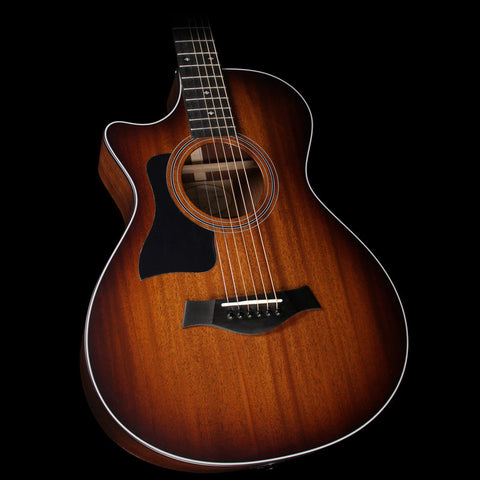 Taylor 322ce Mahogany Top Grand Concert Left-Handed Acoustic-Electric Guitar Shaded Edgeburst