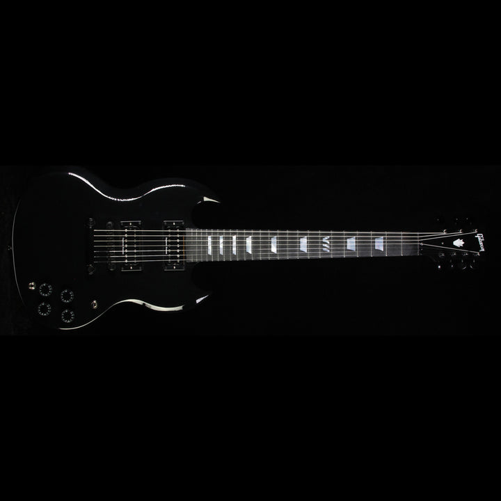 2016 Gibson Limited Edition SG Light 7 Electric Guitar Ebony SGDS7EBBC1