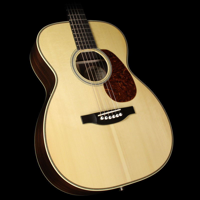 Used Bourgeois Vintage 00 Acoustic Guitar Natural