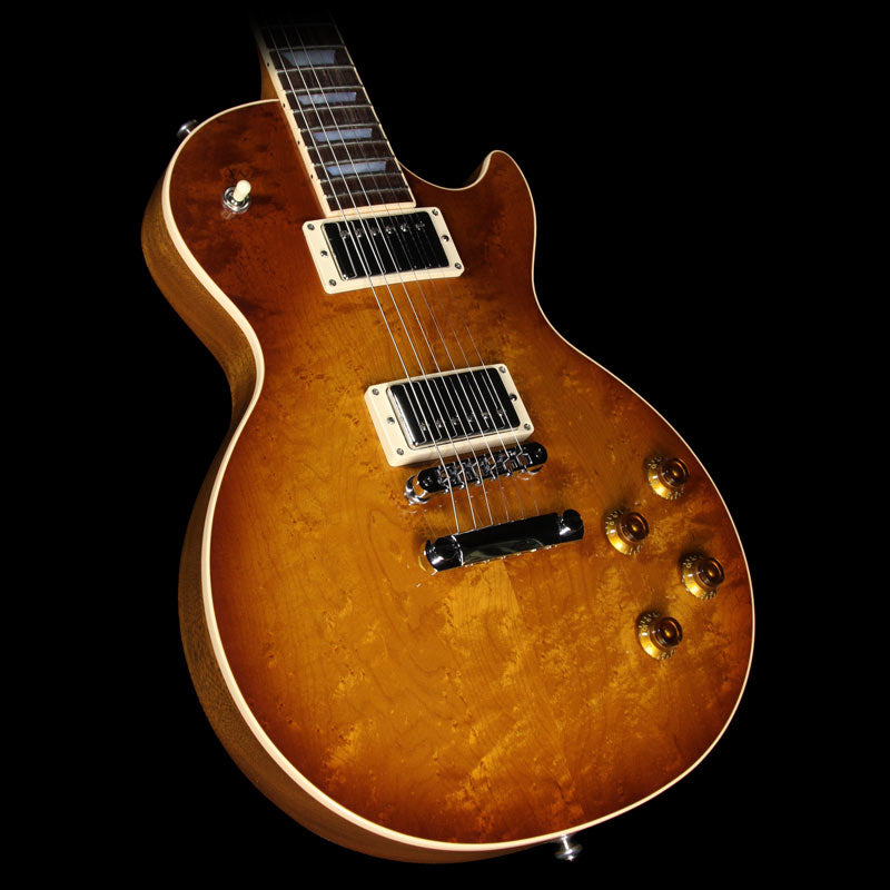 2016 Gibson Les Paul Roasted Birdseye Electric Guitar Honey Burst