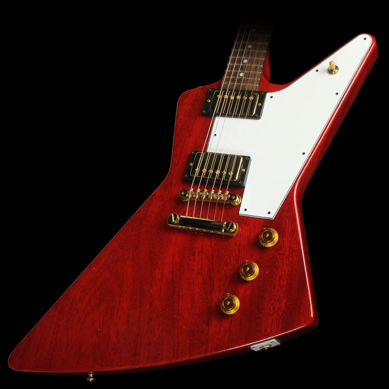 Used 2013 Gibson Custom Shop Benchmark Explorer Electric Guitar Cherry Red
