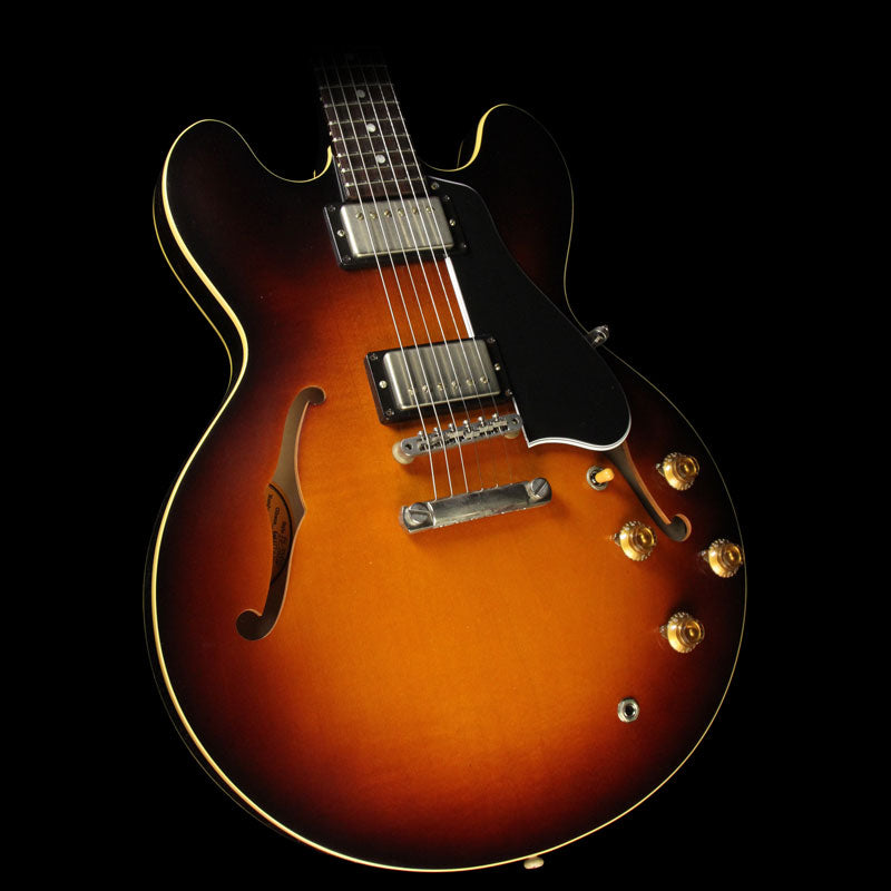 Used Gibson Memphis '58 ES-335 Reissue Electric Guitar '58 Burst A09572