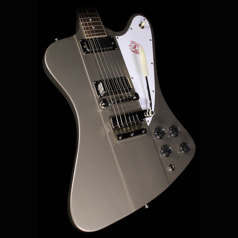 Gibson Custom Shop 1964 Firebird III Reissue Electric Guitar Silver Mist