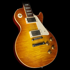 Gibson Custom Shop Standard Historic 1959 Les Paul Electric Guitar Sunrise Tea Burst