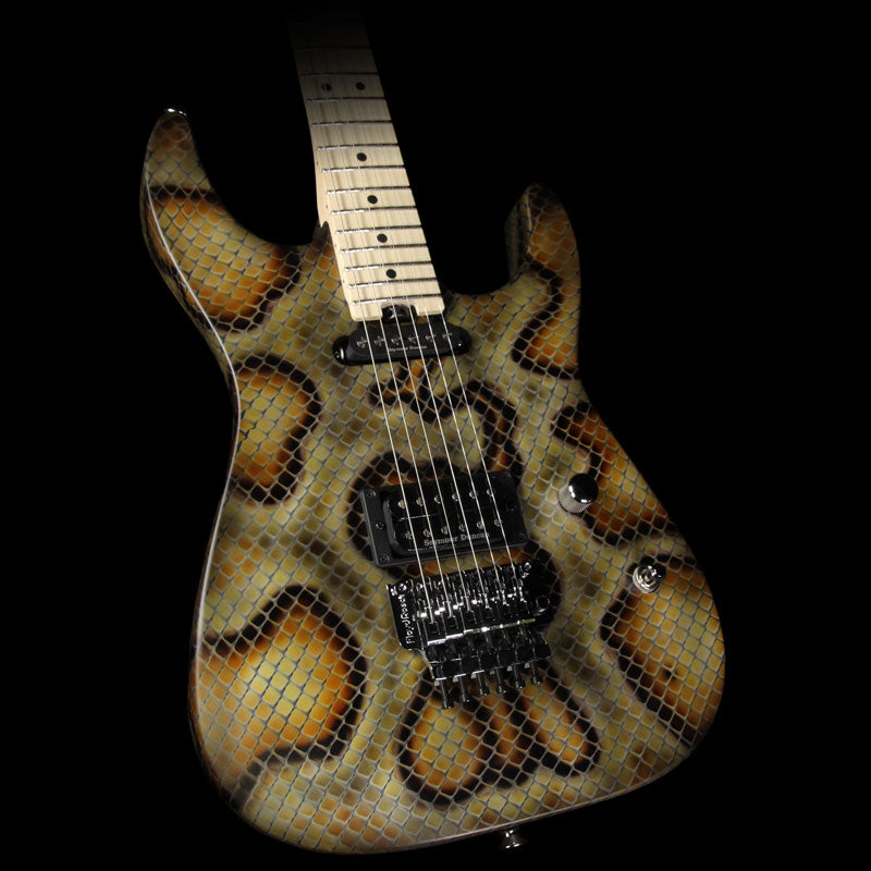 Used Charvel Pro Mod San Dimas Warren DeMartini Signature Snakeskin Electric Guitar
