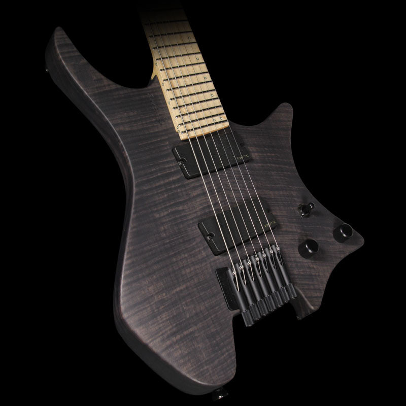 Used 2015 Strandberg Custom Shop Boden 7 Electric Guitar Perpetual Black