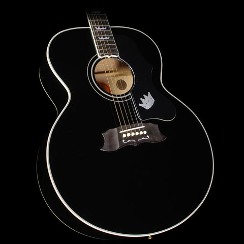 Used 1997 Gibson Elvis Presley The King of Rock J-200 Acoustic/Electric Guitar Ebony