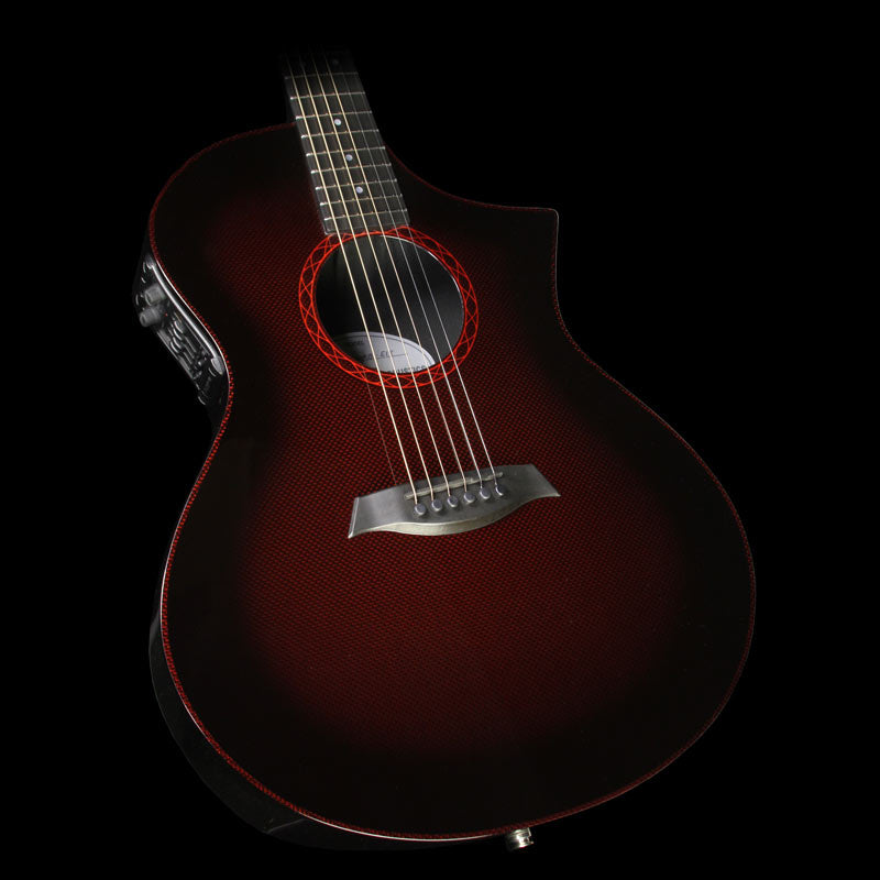 Composite Acoustics The GX Acoustic-Electric Guitar Wine Red Burst