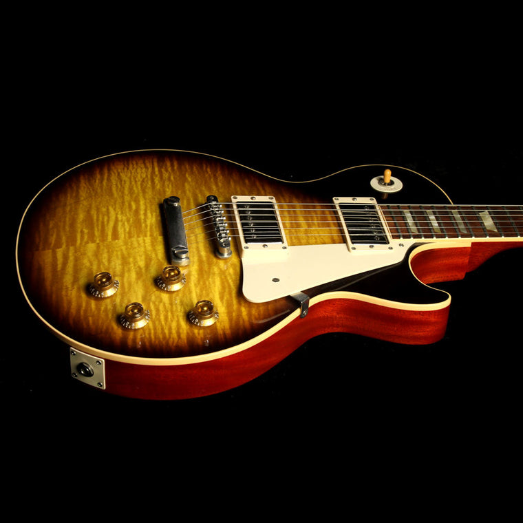 Used 2009 Gibson Custom Shop 1959 Les Paul Reissue 50th Anniversary Electric Guitar Darkburst