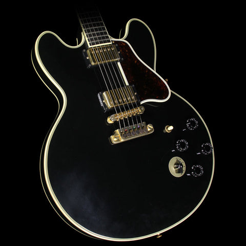 Used 2000 Gibson Memphis Lucille B.B. King Signature Semi-Hollowbody Electric Guitar Ebony