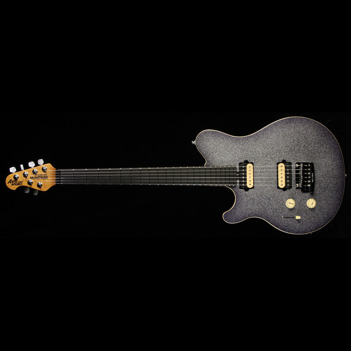 Ernie Ball Music Man Premier Dealers Network Axis Super Sport Tremolo Left-Handed Electric Guitar Starry Night L09036