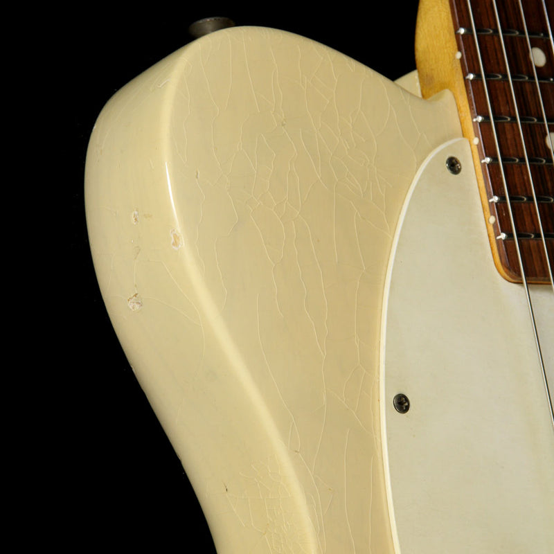 1961 Fender Esquire Electric Guitar Body-Only Refin Vintage White 65638