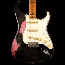 Fender Custom Shop '69 Stratocaster Roasted Ash Masterbuilt Jason Smith Relic Black Over Pink Paisley