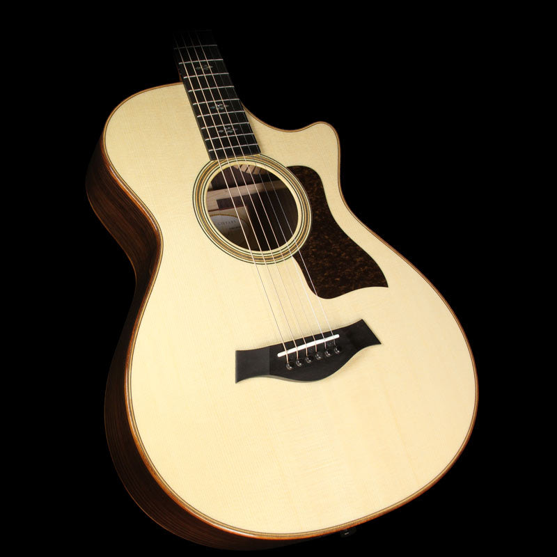 Used Taylor 2016 712ce 12-Fret Grand Concert Acoustic-Electric Guitar Natural