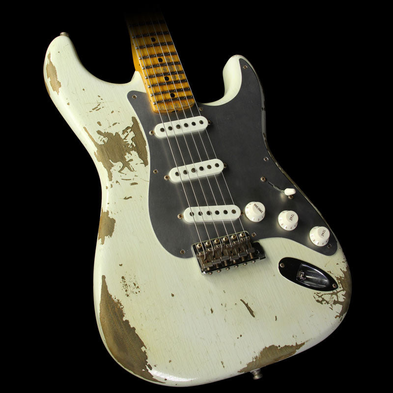 Fender Custom Shop Limited Edition El Diablo Stratocaster Heavy Relic Electric Guitar '55 Desert Tan