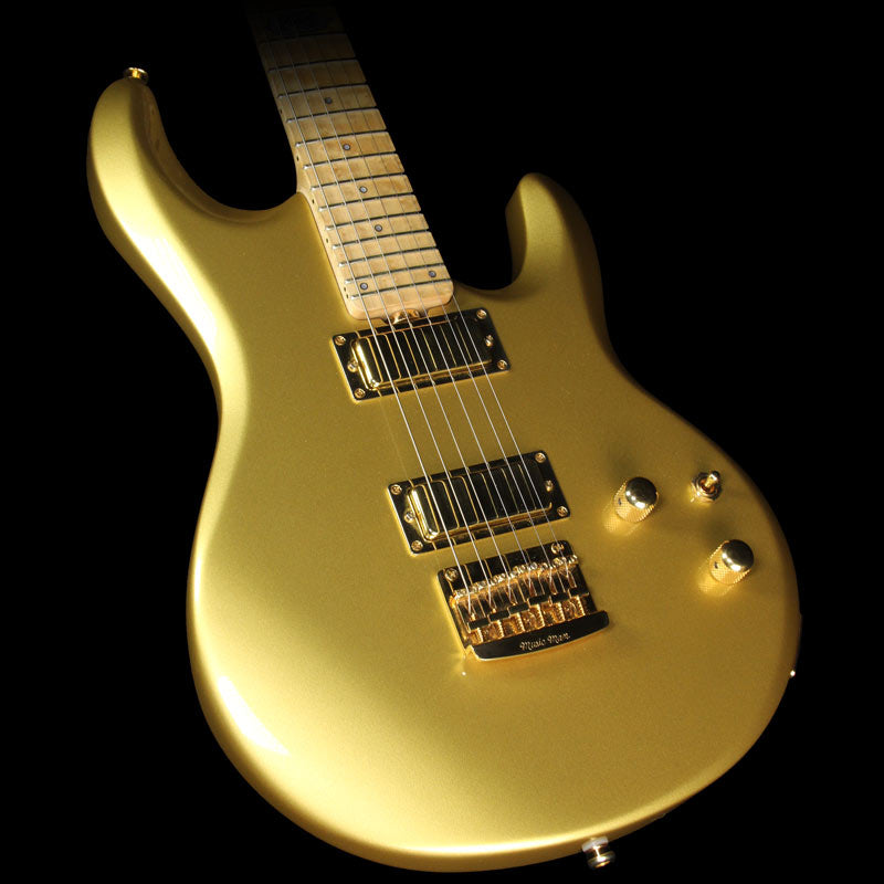 Used 2011 Ernie Ball Music Man Ball Family Reserve Gold Roller Silhouette Electric Guitar