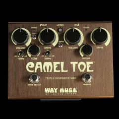 Way Huge Camel Toe Triple Overdrive MKII Effects Pedal