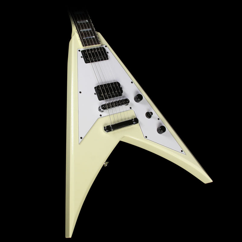 Jackson USA Signature Scott Ian KV King V Electric Guitar Ivory