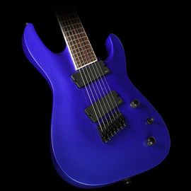 Jackson X Series Soloist Archtop Fanned Fret 7-String Electric Guitar Metallic Blue