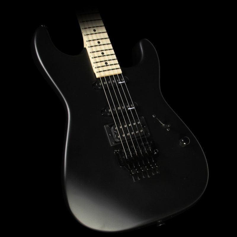 Used Charvel USA Select San Dimas Style 1 HSS Electric Guitar Pitch Black