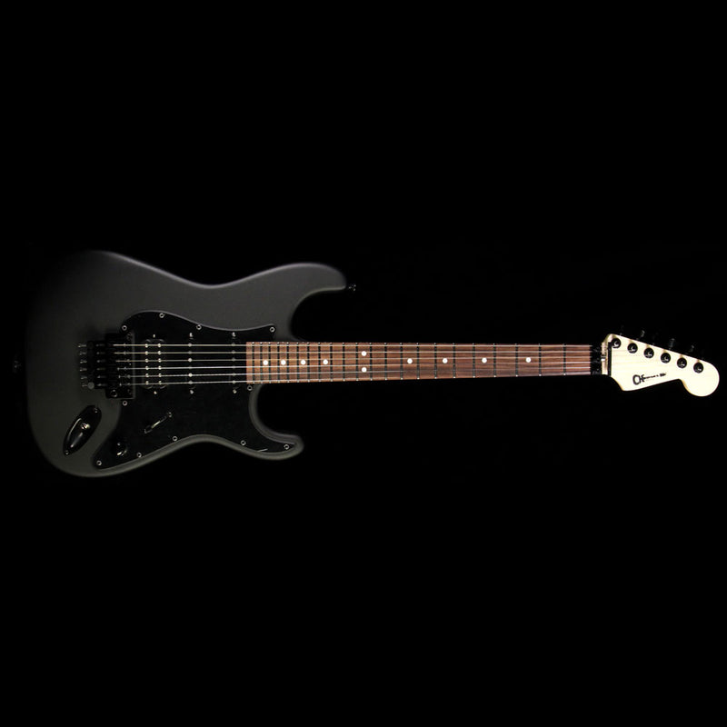 Charvel USA Select SC 1 HSS Electric Guitar Pitch Black C10464