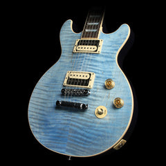 2017 Gibson Les Paul DC Carved Top Electric Guitar Ocean Blue