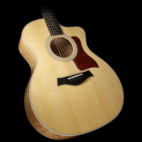 Taylor 214ce-QM DLX Grand Auditorium Acoustic/Electric Guitar Natural