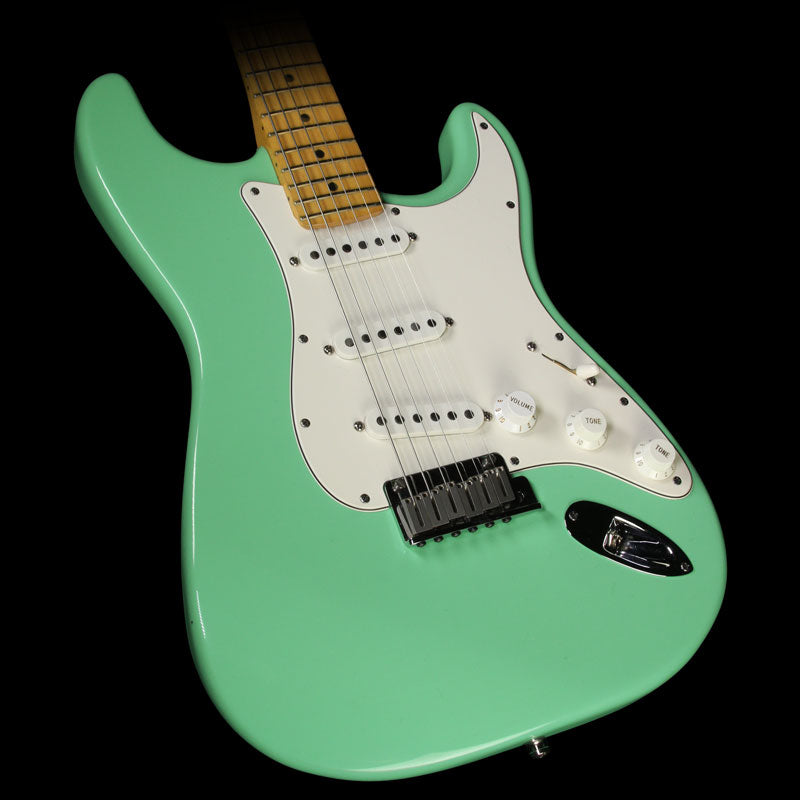 Used Steve Miller Collection Fender '62 Stratocaster Reissue Electric Guitar Surf Green with Matching Headstock