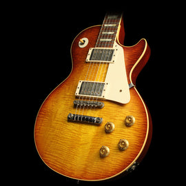 "Used Steve Miller Collection Gibson Custom Shop Billy Gibbons ""Pearly Gates"" '59 Les Paul VOS Electric Guitar Heritage Cherry Sunburst"